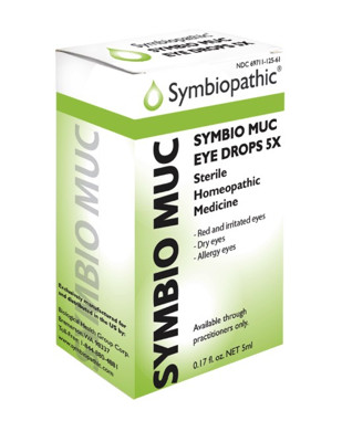 Symbio Muc Eye Drops 5X