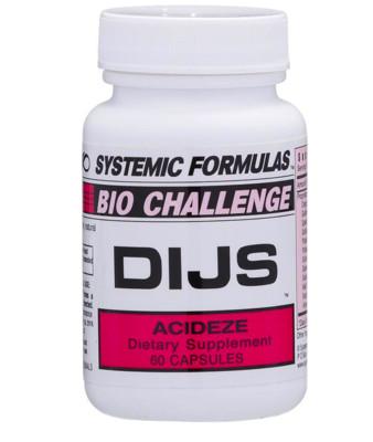 DIJS - Acideze 60 caps
