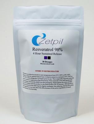Resveratrol 98% 30 Suppositories