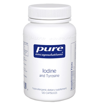 Iodine and Tyrosine 120 vcaps