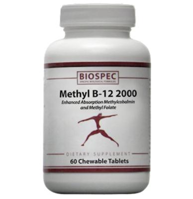 Methyl B-12 2000 60 tabs