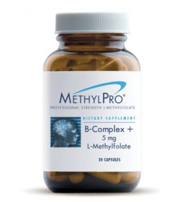 B-Complex +5 mg L-Methylfolate 30 caps