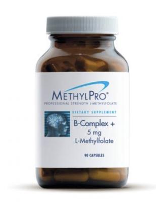 B-Complex +5 mg L-Methylfolate 90 caps