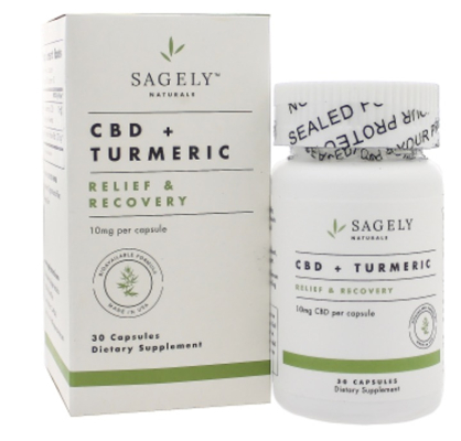 Relief and Recovery Turmeric 30 Capsules
