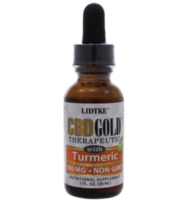 CBD Gold with Ginger 1 fl oz