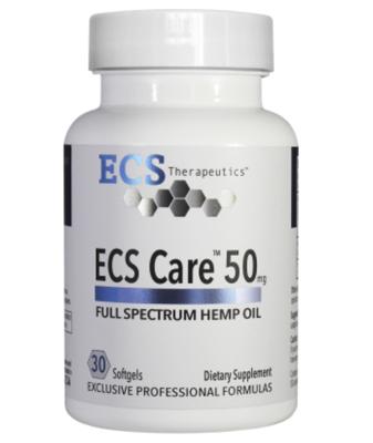 ECS Care 50mg 30 gels