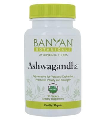 Ashwagandha (Organic) 500 mg 90 tabs