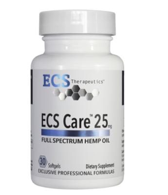 ECS Care 25mg gels