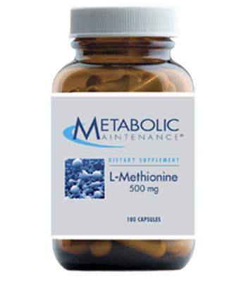 L-Methionine 500 mg 100 vcaps