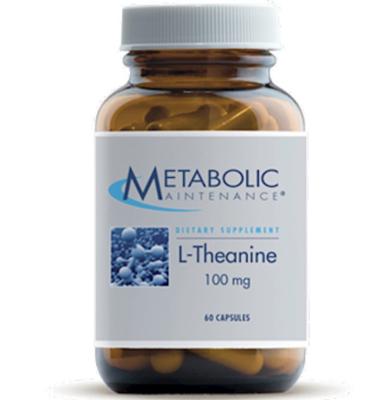 L-Theanine 100 mg 60 caps