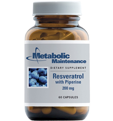 Resveratrol  with Piperine 60 vcaps