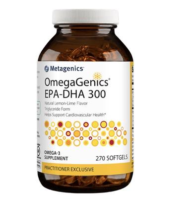 OmegaGenics EPA-DHA 300 270 gels