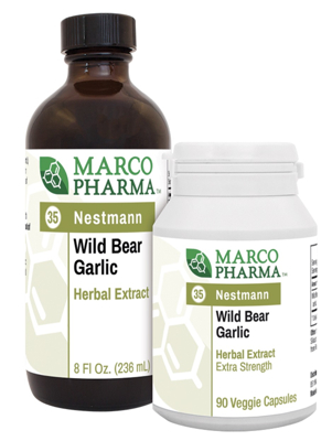 Wild Bear Garlic No 35 90 caps