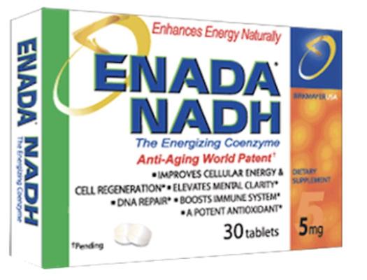 Enada NADH 5 mg 30 tabs