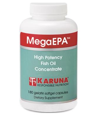 MegaEPA HP Fish Oil Concentrate 180 gels