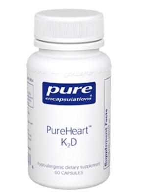 PureHeart K2D 60 caps