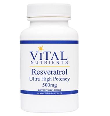 Resveratrol Ultra High Potency - 60 vcaps
