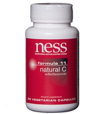 Formula 11 Natural C w/Bioflavonoids - 90/180 caps