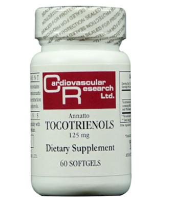 Annatto Tocotrienols 125 mg 60 gels