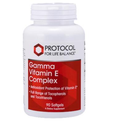 Gamma Vitamin E Complex 90 gels