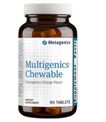 Multigenics Chewable Orange 90 tabs