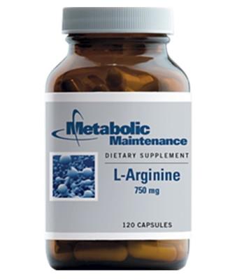 L-Arginine 750 mg 120 caps