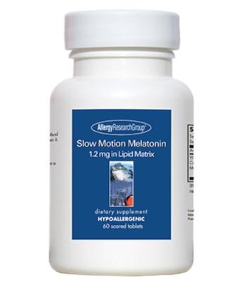 Slow Motion Melatonin 1.2mg 60 tabs