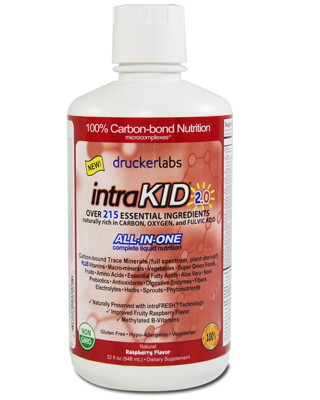 IntraKID Organic Childrens Vitamin - Travel Size