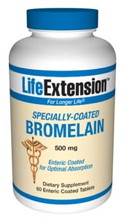 Specially Coated Bromelain 60 tabs