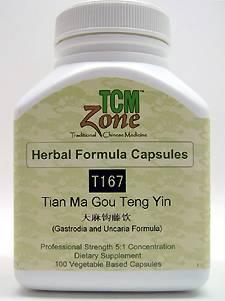 Tian Ma Gou Teng Yin | Gastrodia and Uncaria Formula