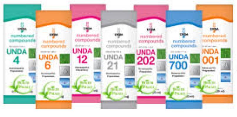UNDA Homeopathic Remedies