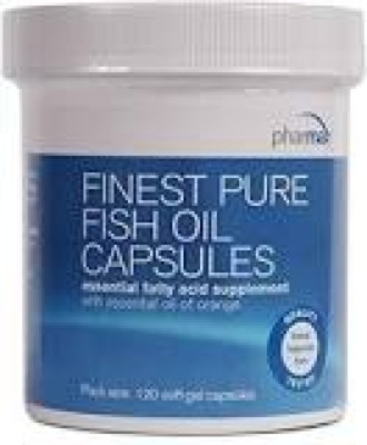 Finest Pure Fish Oil 120 softgels