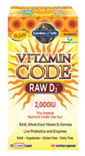 Vitamin Code RAW D3 120 vcaps