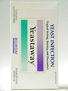 Yeastaway - 7 Suppositories