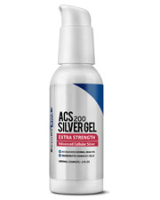 ACS 200 Extra Strength Silver Gel 2 oz