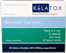 KeLATOX EDTA Suppositories - Professional Strength (1200mg - 30ct)