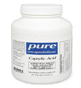 Caprylic Acid -120 vcaps