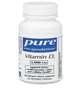Vitamin D3 5,000 i.u.