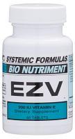 EZV - 200 I.U. VITAMIN E 60 tabs