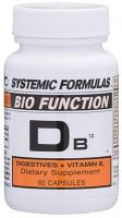 DB12 Digestives + Vitamin B12 60 vcaps
