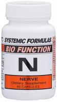 N – Nerve  60 caps