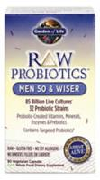 RAW Probiotics Men 50 & Wiser 90 vcaps