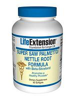 Super Saw Palmetto/Nettle Root Formula with Beta-Sitosterol 60 gels