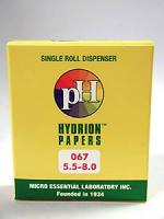 pH Hydrion Papers (5.5-8.0) 1 roll