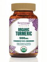 Organic Turmeric 500 mg 30 vegcaps
