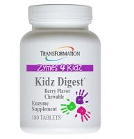 Kidz Digest Chewable 180 tabs