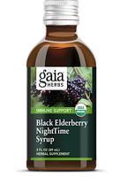 Black Elderberry Nighttime Syrup 3 oz