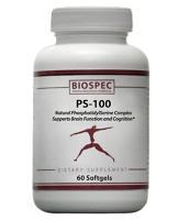 Phosphatidyl Serine 100mg 60 gels