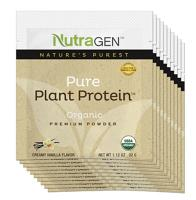Pure Plant Protein 10 Travel Packets – Vanilla