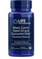 Black Cumin Seed Oil w/Bio-Curcumin 60 gels